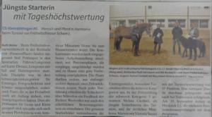 Bericht Pferdewoche